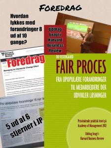 Foredrag om fair proces og relationel koordinering