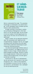 Claus Hjortdal, Næstformand i skolelederforeningen, anmelder fair proces